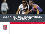 2016-17 Field Hockey Power Point
