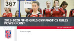2018-20 Girls Gymnastics Powerpoint