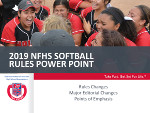 2019 Softball PowerPoint