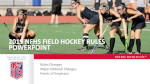 2019 Field Hockey Power Point