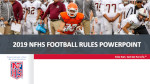 2019 Football Powerpoint