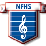 NFHS Music Association Logo Pin