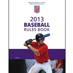 2013 Baseball Rule Book (Due In Stock September 2012)