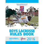 2016 Boys Lacrosse Rules Book
