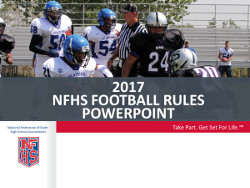 2016 Football Powerpoint (June)