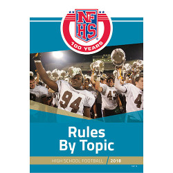 2018 Football Rules by Topic