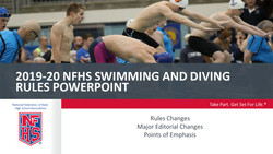 2019-20 Swimming & Diving Powerpoint