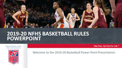 2019-20 Basketball PowerPoint