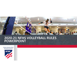 2020-21 Volleyball PowerPoint