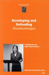 Developing & Defending Disadvantages