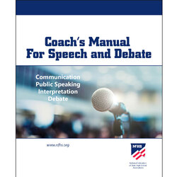 NFHS Coach's Manual for Speech and Debate