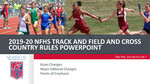 2020 Track & Field PowerPoint