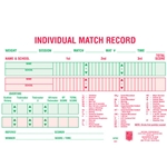 Wrestling Tournament Match Cards (100 Per Package)
