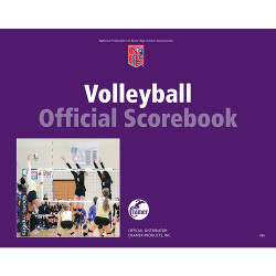 Volleyball Rally Scorebook (covers 27 matches) (Updated Fall 2007)